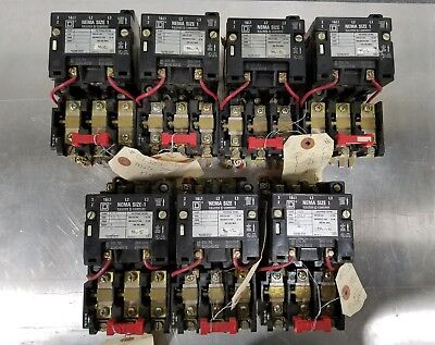 Square D 10HP Motor Starter / Contactor 8536 - SCO3 Size 1 31041-400-51 #003B1