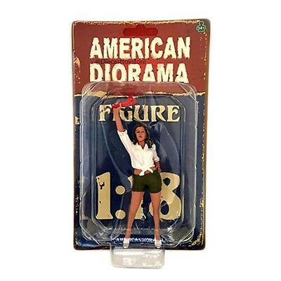 70's Style Figures For 1:18 Scale Model - Ii Ad-77452 By American Diorama