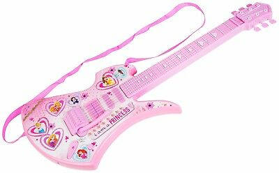 Kids Childrens Disney Princess Deluxe Electric Guitar Musical Instrument Toy