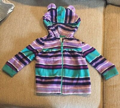 Old navy 12-18 Months Girls Hooded Fleece Jacket