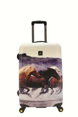 National Geographic Horse Hard Side Luggage FREE POSTAGE BNWT
