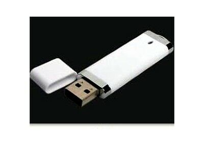 1 GB Flash Drive - Bulk Pack - USB 2.0 1GB Snapcap Design in White