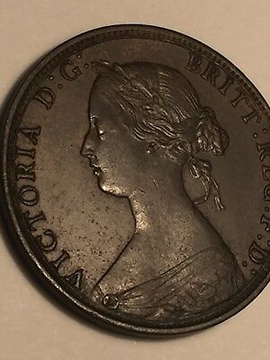 1864 Nova Scotia Cent, High Grade Coin