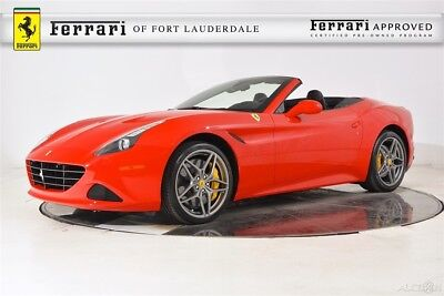 2017 Ferrari California T Special Handling Package Certified CPO Carbon Fiber LED Apple CarPlay Full Electric Ventilated Camera Shields 20 Forged