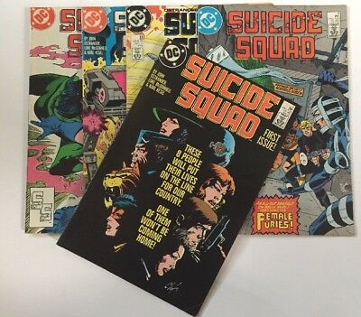SUICIDE SQUAD - No #1 - The First Issue - May 1987 Plus 4 Comics