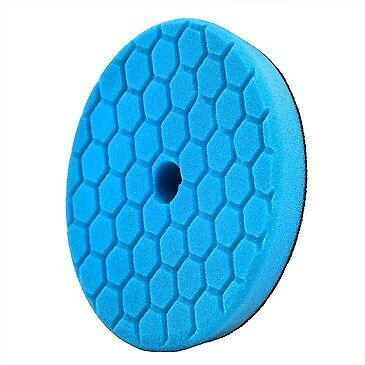 "Chemical Guys Hex Logic Quantum 140mm 5.5"" Blue Polishing Finishing Pad ~ Polish"