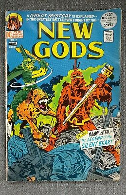 DC The New Gods 7   1st Steppenwolf, Early Darkseid 1972 DC Comic