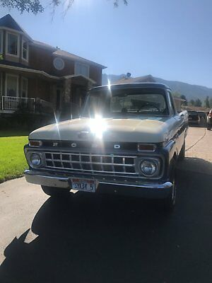 1965 Ford F-100  65 Ford F-100 Short Box With 347 Fuel Injected and  AOD
