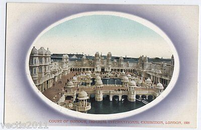 Imperial International Exhibition London 1909 Postcard - Court of Honour