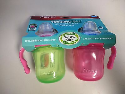 NEW-Playtex Soft Spout Sippy Cups - 6 Ounce - 2 Pack Free & Fast Shipping