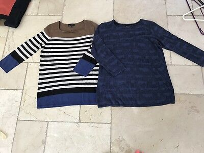 2 X Next Maternity Jumpers Size 10