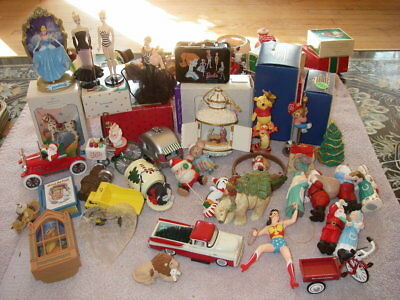 Hallmark Christmas Ornament lot of 36 from 1990's