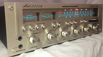 Vintage Maratnz 2252B Stereo Receiver Tuner Phono Amplifier Serviced Nice