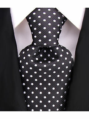 Scott Allan Mens Polka Dot Necktie