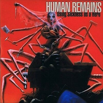 Human Remains - Using Sickness As A Hero Black Vinyl Lp + Mp3 Download Neu