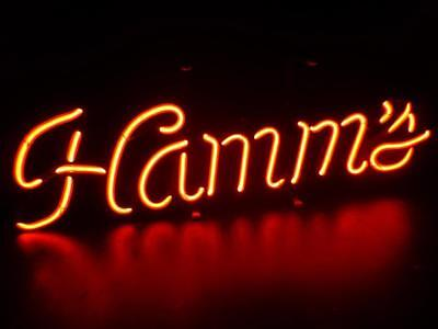 Vintage 1960'S HAMMS BEER NEON BEER LIGHT RARE PERFECT CONDITION RED WALL MOUNT