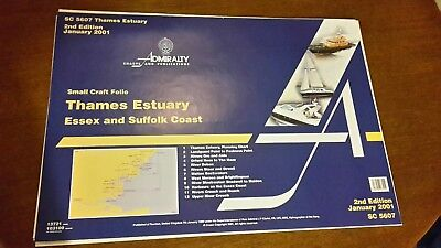 Admiralty SC 5607 Thames Estuary 2nd Edition Jan 2001