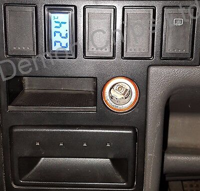 VW T4 Transporter dashboard dash blank button switch cover Digital Thermometer
