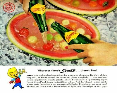 Wherever Theres Squirt Theres Fun 8X10 Vintage Ad 590160917