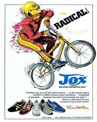 Radical Jox Shoes 8X10 Vintage Ad 397160917