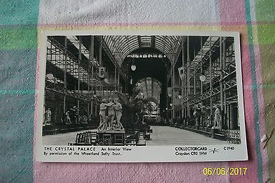 Postcard-- The Crystal Palace ( Collectorcard )