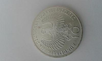 Antique Coin 1972 German 10 Mark in Excelent Condition Item 62