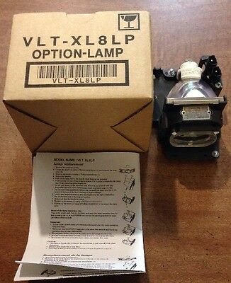 Projector Option Lamp 180W Replacement C57455 Model Name VLT-XL8LP *NEW IN BOX*