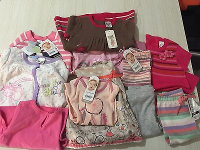 Baby Girl Clothes BNWT size 00 Assorted Bulk Lot RRP over $140