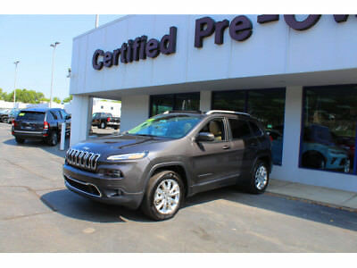 2017 Jeep Cherokee Limited 2017 Jeep Cherokee Limited 3078 Miles Dk. Gray 4x4 Limited 4dr SUV  9-Speed Shif