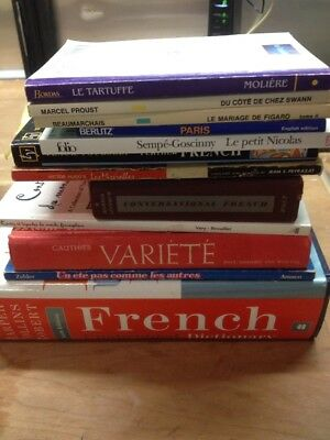 12 French Travel Language Learning Dictionary Teach Yourself Book Lot
