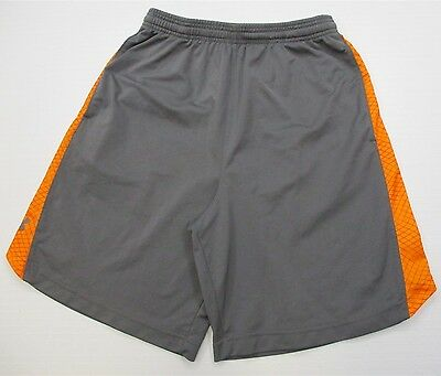 UNDER ARMOUR #SH8640 Men's Size M Loose Basketball Athletic Running Gray Shorts
