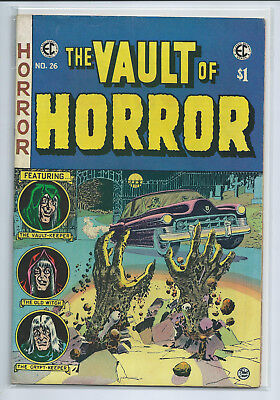 EC Classic Reprint - The Vault of Horror #26, 1974, Very Fine