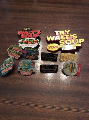 Lot of 10 Waffle House Pins