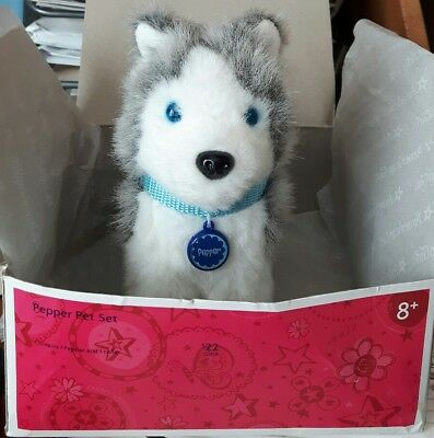 American Girl Pepper Pet Set Dog Puppy Excellent Condition in box