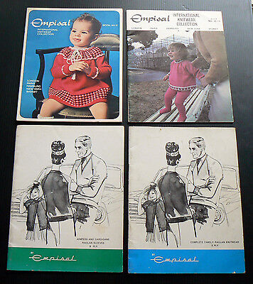 Empisal International Knitwear Collection 4 Pattern Books baby kids knit vintage
