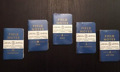 Field Notes County Fair Edition 5 Notebook Lot