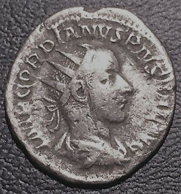 Gordian III Double Denarius (Silver) minted in Rome 241/2 AD