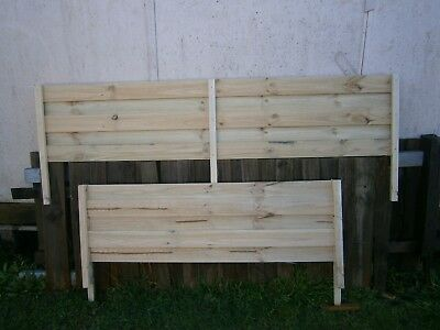 2.1m Fence Top Extension. 100mm x 12mm Treated Pine Palings, Galvanised Nails.