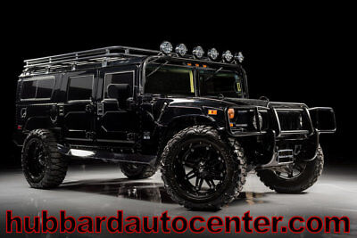 2006 Hummer H1 Very Rare, 1 of Only 5 Gloss Black KSCS Wagons Pro 2006 Hummer H1 low miles, fully custom, hard to find black wagon!
