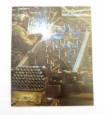 Vintage John Deere Welland Works Plant Tour Brochure 1978 Factory Booklet