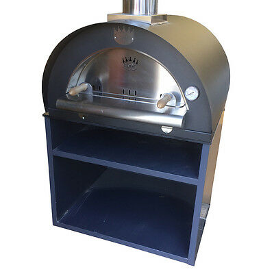 Clementi/MyAlfresco Pizza Oven Module with Cabinetry (Ex-Display)