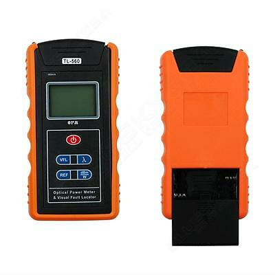 Dural Use Optical Power Fiber Meter + 10mW Visual Fault Locator Cable Tester M2