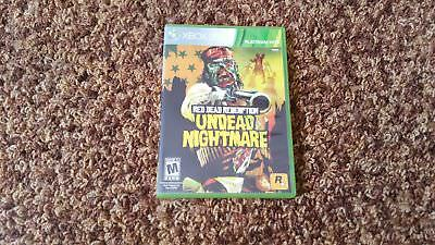 Red Dead Redemption Undead Nightmare Collection (Microsoft Xbox 360) Complete