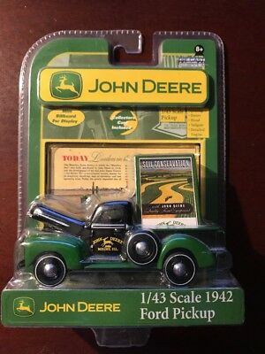 Gearbox Toys John Deere 1942 Ford Pickup 1/43 Scale Diecast- NEW