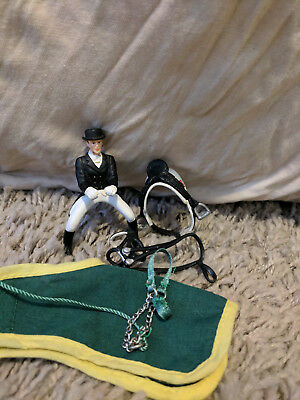 Retired Schleich Dressage Tack Set