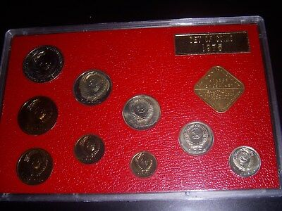 1975 USSR Soviet Union Leningrad Proof coin Set