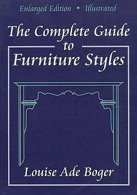 Antique Furniture Periods Styles Types / In-Depth Collector - Appraiser Guide