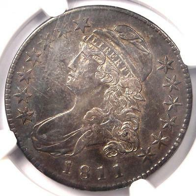 1811 Capped Bust Half Dollar 50C O-111 - NGC XF Details (EF) - Rare Coin!