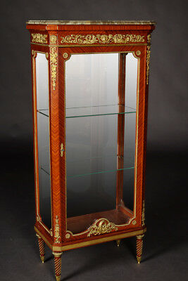 French Cabinet in the Louis XVI Style Light Mahogany Veneer
