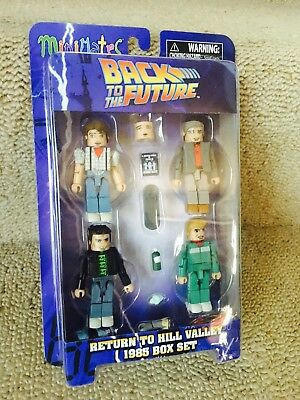 Back To The Future - 1985 Return To Hill Valley (Box Set) BRAND NEW / Mini Mates